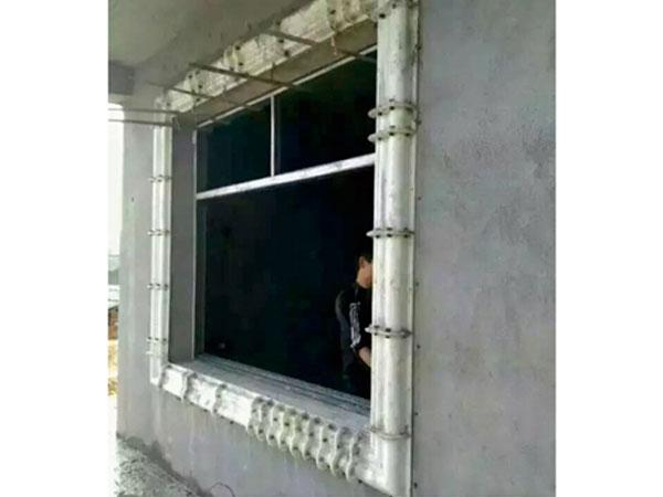 窗套模具安装
